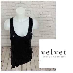Velvet Brand Sequins Tank Top